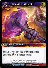WOW WARCRAFT TCG WAR OF THE ANCIENTS : CRUSADER'S MIGHT X 4