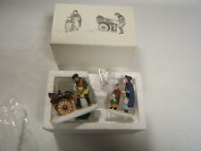 "Dept 56 Heritage Village ""Knife Grinder"" Christmas Accessory #5649-9 Vgc in box"