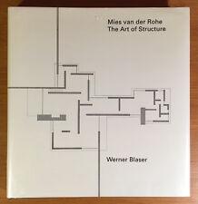 Mies van der Rohe, The Art of Structure, excellent condition, unique study