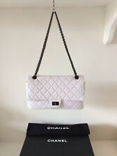 CHANEL Reissue 2.55 Off White Classic Double Flap Bag