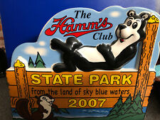 Rare Hamm's Beer Club 2007 From The Land Sky Blue Waters Bear Commemorative
