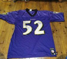 Baltimore Ravens Reebok NFL American Football Jersey Medium Ray Lewis #52 Reebok