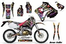 Honda Graphic Kit AMR Racing Bike Decal CRM  250AR Decal MX Part ALL ED HARDY K