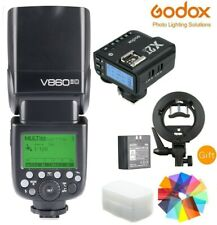Godox V860II C Li-ion Battery Camera Flash Speedlite + X2T-C Trigger for Canon