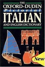 The Oxford-Duden Pictorial Italian and English Dictionary-ExLibrary