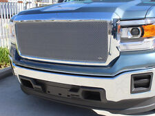 GrillCraft 2014-15 GMC Sierra 1500 Silver MX-Series Mesh Grille Grill