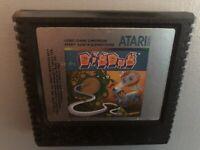 Dig Dug (Atari 5200, 1983) GREAT GAME - RARE ~FREE FAST US SHIPPING