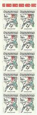 Tchecoslovaquie Sport Coupe Monde Football Soccer Italia ** 1990 Carnet Booklet