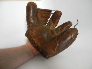 Wilson 1941 Streamlined Fingers Baseball Glove 3 fingers No. 2231204 Pat. No. 24