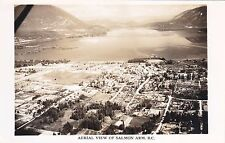 RP: Aerial view, SALMON ARM , British Columbia , Canada 10-30s