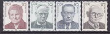 Germany DDR 2721-24 MNH 1989 Labor Leaders Full Set Very Fine