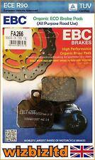 EBC Rear Organic Brake Pads Ducati 848 Evo (Monobloc front calipers) 10-13 FA266