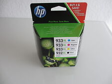 Value Pack c2p42 AE Officejet 6100 CMYK no. 932xl blk+no.933xl C M Y mhd2018 NUOVO