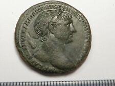 95Ancient Roman copper as Trajan 1 - 2 century AD