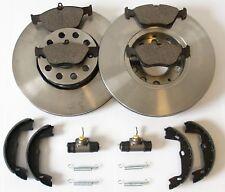 Ford Ka 2 Bremsscheiben 4 Bremsbeläge vorne Bremsbacken Radbremszylinder hinten