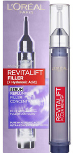 LOREAL REVITALIFT REPLUMPING FILLER + HYALURONIC ACID SERUM  16ML *NEW&Original*