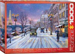 Eurographics 1000 Piece Jigsaw Puzzle - Christmas Eve in Paris  EG60000785