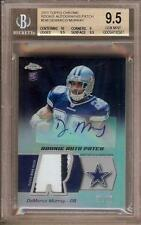 2011 TOPPS CHROME DEMARCO MURRAY RC AUTO PATCH 21/25 BGS 9.5 / 10!!