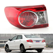 Left Driver Side Tail Light For Toyota Corolla 2011 2012 2013 Rear Lamp Assembly