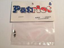 Patriot HO Slot Car Stock P3/P2 Guide Pins 2ea A3P07 (bx14) NIP