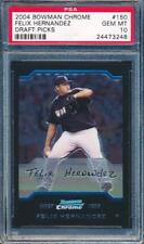 Felix Hernandez 2004 Bowman Chrome Draft Pick Rookie #150 PSA 10 #24473248