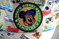 Tokyo Disney Resort Vehicles Baseball Cap w/ Patch Disney Japan Rare