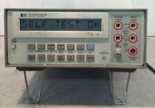 HP Hewlett Packard 3478A Digital Benchtop Multimeter