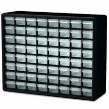 Akro Mils 10764 Hardware Storage Cabinet 64 Drawer Sturdy Plastic Organizer