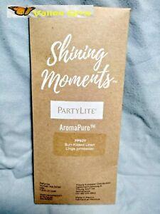PartyLite Shining Moments AromaPure Sun Kissed Linen