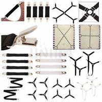 Adjustable Elastic Suspender Garter Belts Plastic/Metal Clips Corset Body Shaper