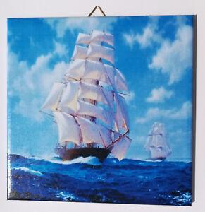 Dekofliese Wandbild Bildfliese Meer Schiff Urlaub (114DP) Geschenkidee