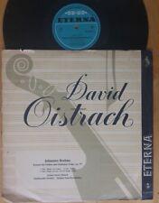 Brahms - Violin Concerto David Oistrakh Konwitschny Eterna ED1 LP