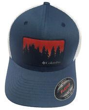Columbia Unisex Whipstaff Flexfit Mesh Ball Cap Hat S/M L/XL