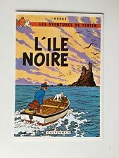 TINTIN CARTE POSTALE L ILE NOIRE / HERGE / ARNO 1981 CASTERMAN
