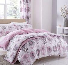 Tende rosa floreale per la casa
