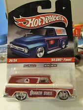 Hot Wheels Real Riders '64 GMC Panel Delivery Quaker State