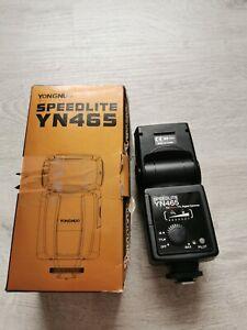 Yongnuo Yn465 for Nikon TTL digital cameras good used condition tested