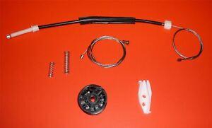 FOR PEUGEOT 206 cabriolet window regulator repair kit / rear right