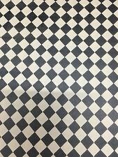 Confezione di 5 12A scala Black & White Tile DOLLS HOUSE documenti 510 x 760mm