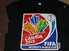 FIFA Women's World Cup Canada 2015 Official Adidas T-Shirt Mens L Large
