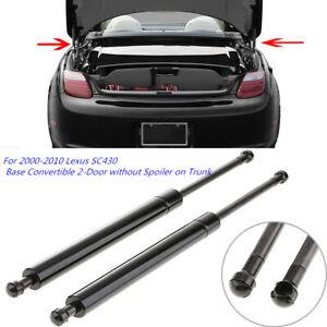2x Rear Trunk Lift Support Strut Prop Arm For 2000-2010 Lexus SC430 Base 2-Door