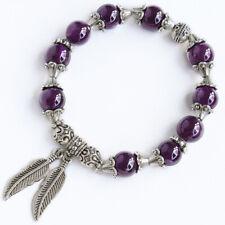 10mm Natural Purple Amethyst Beads Bracelet BDCY32