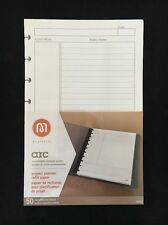 Staples Arc Project Planner Refill Paper Junior 50 Sheets