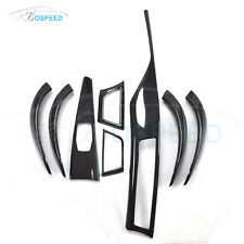 Carbon Fiber Interior Trim B Style 8 pcs/set for BMW F30 F31 F34 3-Series 12-16