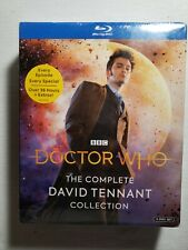 Doctor Who Complete David Tennant Collection Blu-ray: 14 Disc New, Sealed Extras