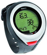 Mares Puck Pro Color Wrist Dive Computer Scuba Diving Watch 414127 White