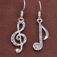 Women Gift Earrings Jewelry Crystal Dangle Drop Earring Fashion Accessories