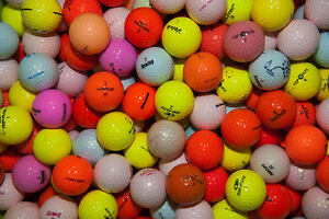 50 Mixed Colour Golf Balls  # Clearance SALE #