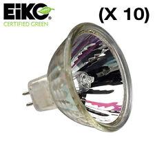 Lot of (10) EiKO EXN-FG 40° MR16 Lamp 12V / 50W / 3000K GU5.3 #15042