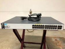 HP Aruba 2530-24G POE 24port w/1GB + 4sfp w/10GB managed switch J9773A (used)